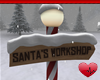 Mm Santa's Workshop Sign