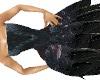 Raven Feathers dress