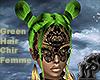 Green Hair Chi Femme