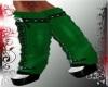 CB GREEN SANTA BOOTS