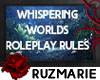 Whispering Worlds Rules