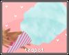 T| Blue Cotton Candy