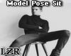 Model Pose Sit