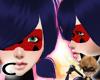 (C) LadyBug Mask