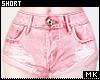 金. Pink Short