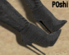P0shi TypicalBoots Gray