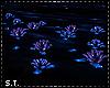 ST: Indigo Anim Flowers