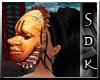 #SDK# D African Mask 3
