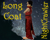 ~NC Red Long Coat