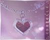 E~ Valentine's Necklace