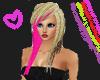 HOT Emo Pink Punk Hair!!