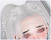 髪 2Tail White