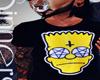 Bart Inverted x Tshirt M