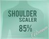 ADR# Shoulder Scaler 85%
