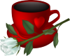 Cup and Rose