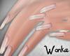 W° Long Nails ~Natural