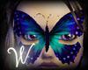 *W* Butterfly Night Mask