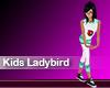 (M) Kids Ladybird Green