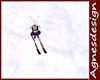 ski\'s with sticks