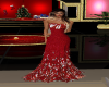 Red-White Christmas Gown
