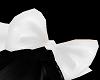 H/White Hair Bow