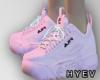 F/ FILA pink shoes