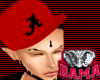 BB|Bama Red Fitted Hat