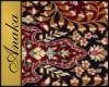 Brown Red Persian Rug