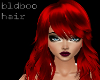 Sasha - hot red
