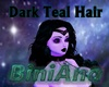Dark Teal Long Hair