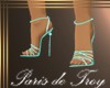 PdT Seafoam Sandal Heels