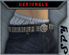 sagging pants with belt