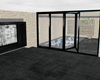 Monochrome pool room unf