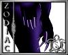 Zodiacs Purple Long Nail