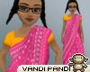 [VP] Pink RajasthaniSari