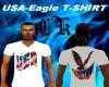 USA-EAGLE T-SHIRT