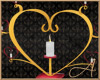 Rustic Heart Candleabra