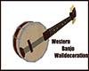 Western Banjo Walldeco