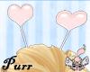 <3*P Pink heart Antennae