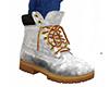 White work boots (M)