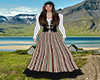 Iceland traditional gown