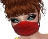 Medical Face Mask- RED