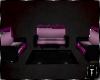 ⛧: Goth Kitty Sofa Set