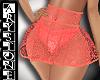 $.Sexy neon skirt