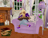 Reading Chair Lilac