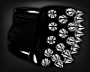 !TX -PVC Spiked ArmBands