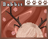 B! Porcelain Antlers