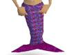 mauve mermaid tail