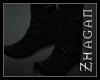 [Z] Hanfu boots blk