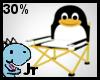 30% penguin chair